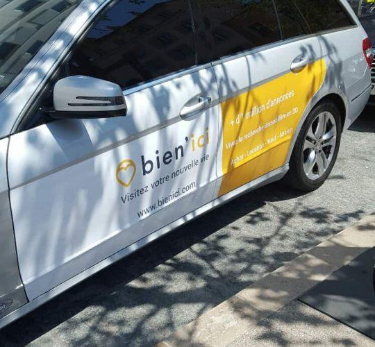 Sign It, régie de publicité sur véhicules à Nice