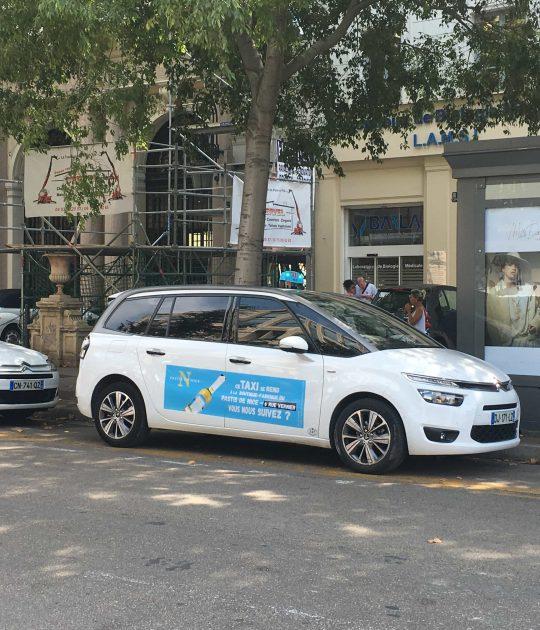 Street-marketing à Nice: Sign It